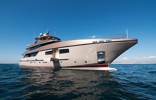 superyacht GEOSAND attends the Mediterranean Yacht Show 2017