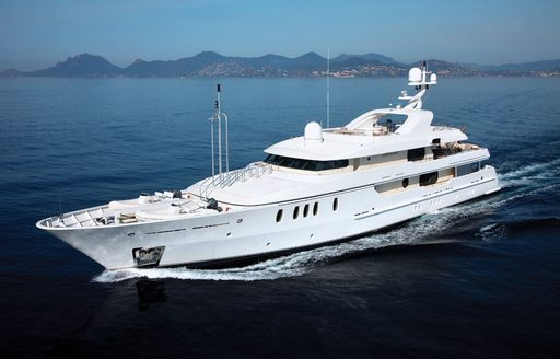 luxury yacht MARLA attends the Mediterranean Yacht Show 2017