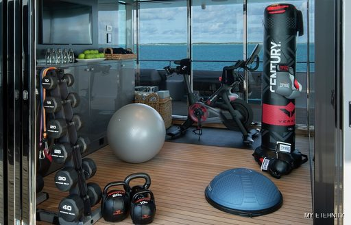 Gym onboard MY Eternity
