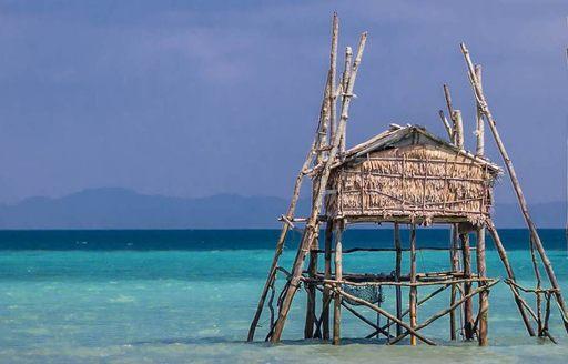 hut in Mergui archipelago