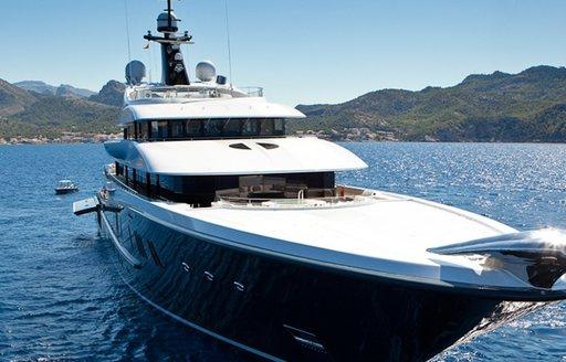 Charter Yacht KISMET Unveils Beautiful Silver Jaguar photo 2