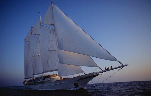 Superyacht ATHENA at anchor