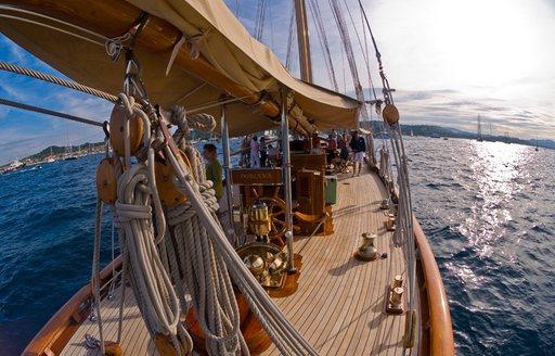 luxury yacht DORIANA will compete at Les Voiles de Saint-Tropez 2017
