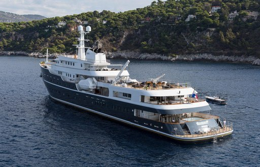 expedition yacht LEGEND opens for luxury yacht charters in Norway