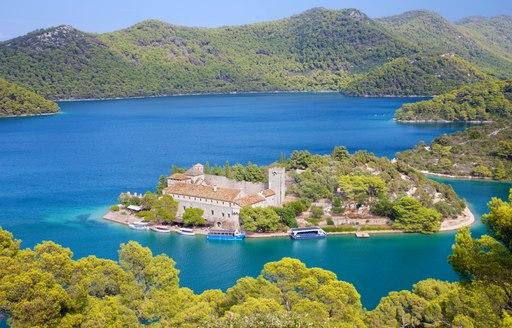 mljet island in croatia