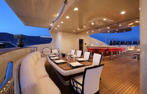 Charter yacht BASH stars in 'World's Most Luxurious Yachts' documentary photo 8