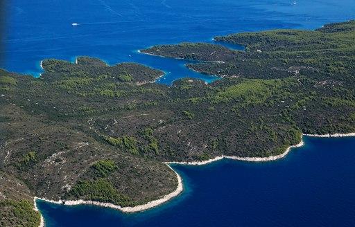 Croatias lovisce inlet