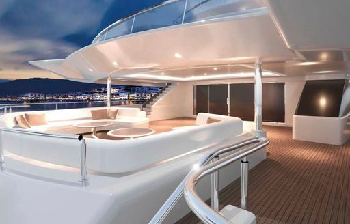 Brand new 95m charter yacht O'PARI on track for 2020 delivery  photo 12