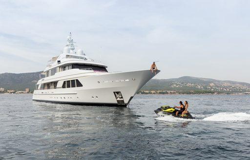 Watertoys on motor yacht GO