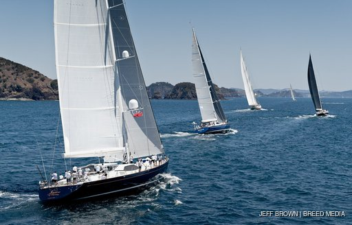 yachts in nz millennium cup 2020
