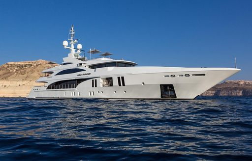 Charter yacht 'Ocean Paradise will be present at the 2014 Cannes Yachting Festival