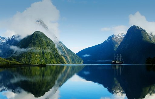 The exotic waters of New Zealand