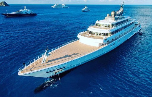 Superyachts on the scene in St. Barts to celebrate New Year's Eve in style photo 3