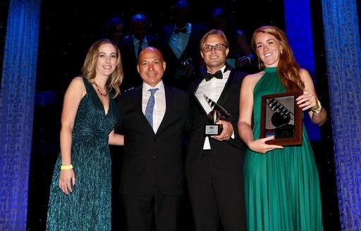 Charter yacht O'PTASIA wins at Design & Leadership Awards at FLIBS 2019 photo 3