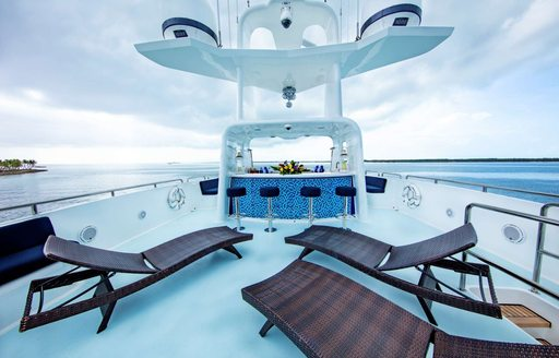 Caribbean special offer: No delivery fees  on luxury superyacht 'Island Heiress' photo 13
