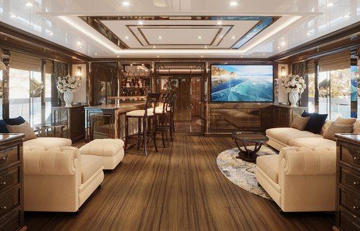 interiors of lady lena yacht