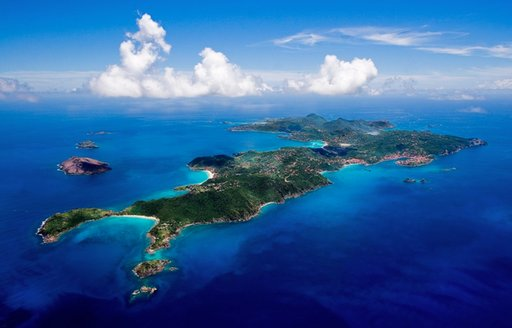 Aerial View St Barts