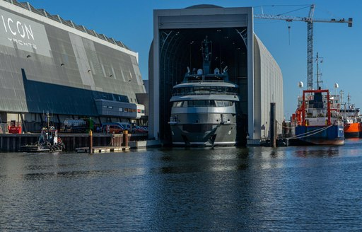 luxury yacht ragnar at icon yachts facilities