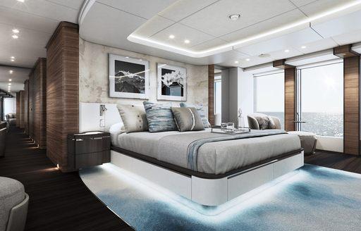 VIP cabin onboard MY ELA