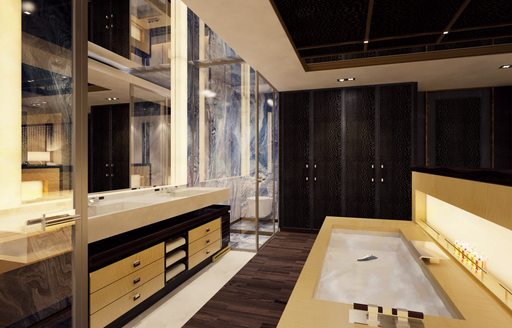 New renderings paint a picture of serenity aboard 88m megayacht 'Illusion Plus' photo 5