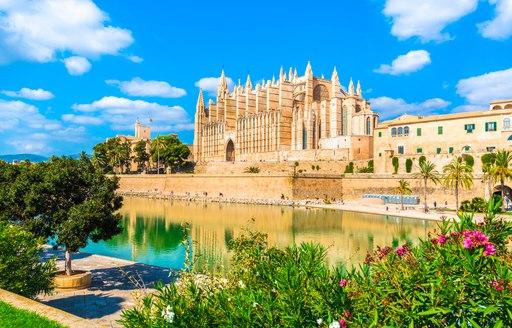 Cathedral Le Seu in Palma, Mallorca