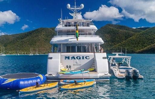 water toys motor yacht magic