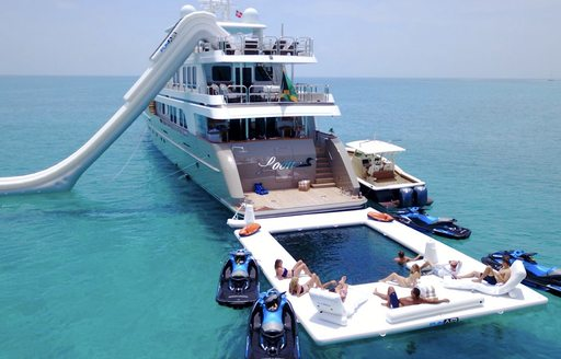 Profile image of superyacht ZEAL with large pool