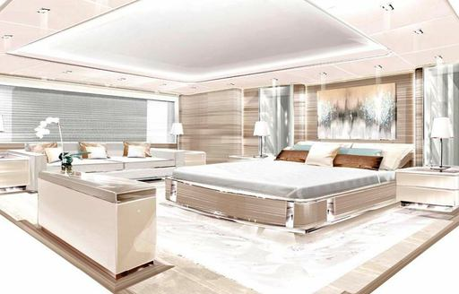 luxury yacht o'pari owners suite