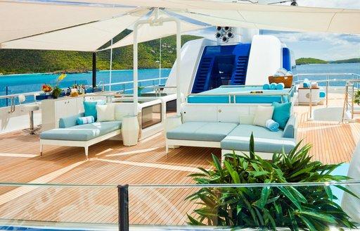 'Polar Star's' shaded deck areas