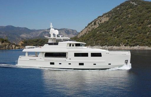 charter yacht SERENITAS (attending pop-up montenegro superyacht show)