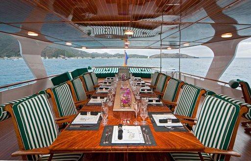 big eagle bridge deck dining