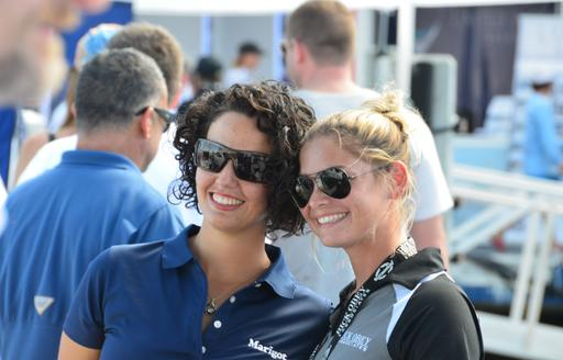 Women pose for picture at FLIBS 2019