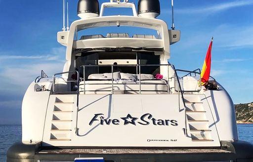 Aft motor yacht Five Stars