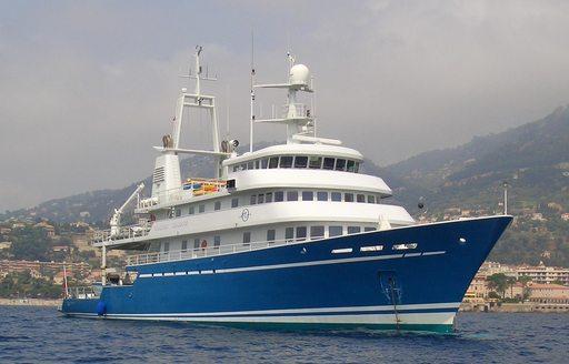 motor yacht Golden Shadow will attend the MYBA Pop-Up Show 2017