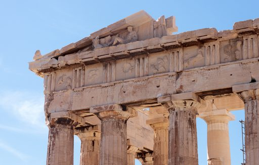 Detail of Parthenon frieze