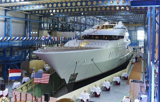 Feadship Launch Superyacht VANISH photo 1