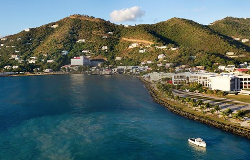 Mountain view in US Virgin Islands