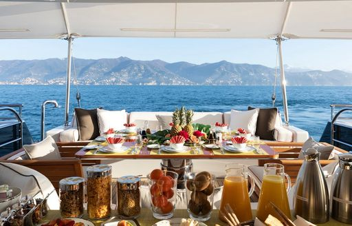 Newly renamed 55m motor yacht REVELRY now available for charter in Mediterranean photo 15