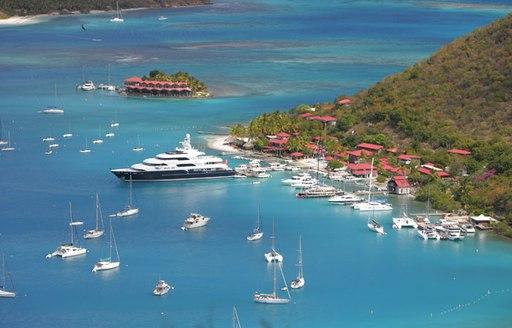 Virgin Islands sea port