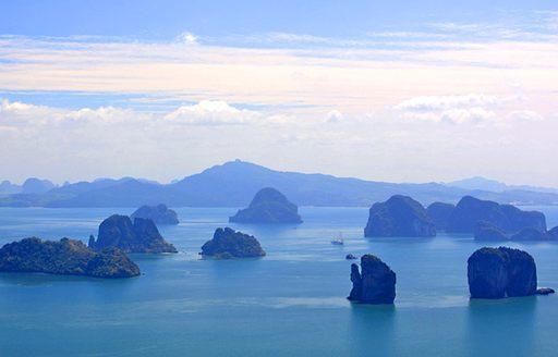 islands in ocean in Thailand