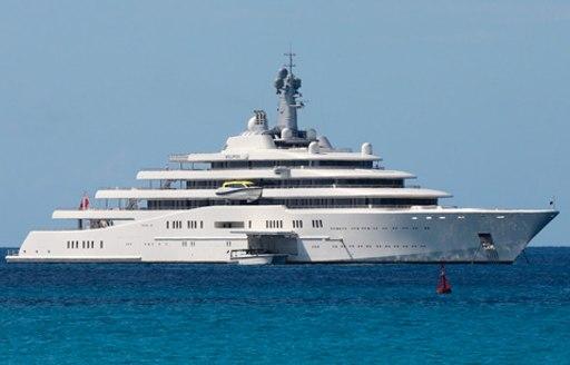 Roman Abramovich's superyacht Eclipse