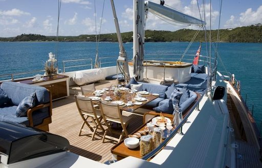 Sailing Yacht ANTARA Undergoing Refit Ahead of Summer Charter Season photo 4