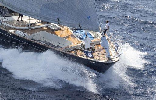 Charter yacht 'Maltese Falcon' triumphs at Perini Navi Cup 2018 photo 6