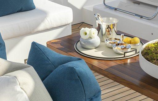 rania yacht foredeck
