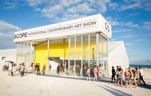SCOPE on South Beach, Miami, for Art Basel Miami