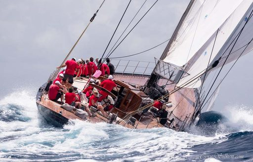 Chase the race: why you have to charter at The Antigua Classic Yacht Regatta photo 9
