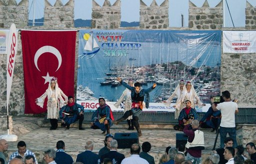 welcome show to the Marmaris Yacht Charter Show  2015