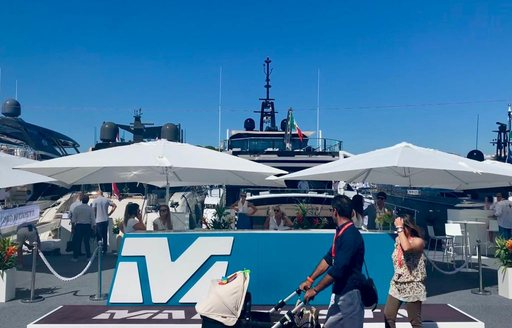 Show-goers tour the yachts at Cannes YAchting Festival 2019