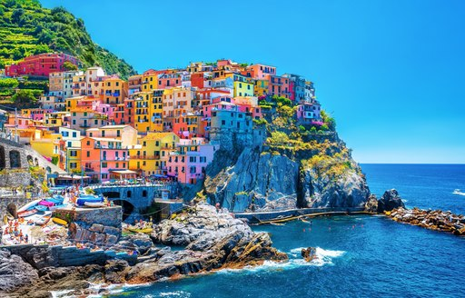 Colourful houses of Cinque Terre in Italy