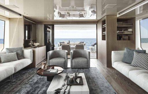 ocean six motor yacht main salon